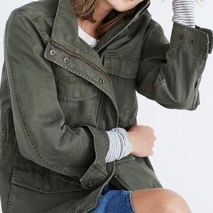 Madewell Surplus Military Utility Jacket